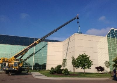 Portage Rd. - Commercial Skylight Replacement