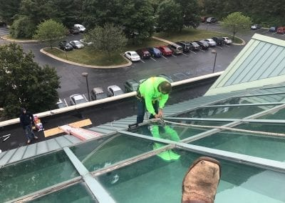Commercial Skylight Service