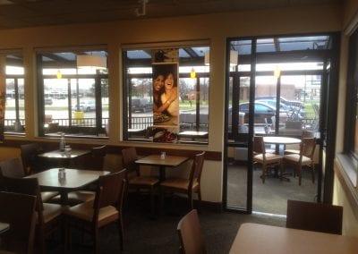 Panera Bread Dining Area - Mount Pleasant, MI