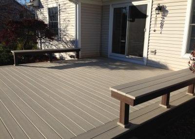 Texas Township - Composite Deck & Benches
