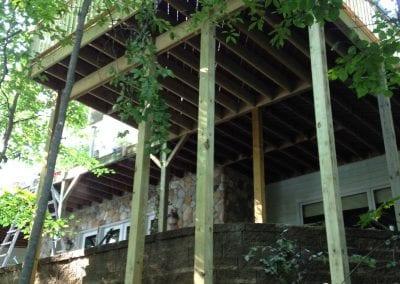 Saint Joseph, MI - 20' Tall Deck Extension