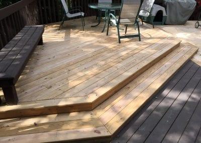 Texas Township, MI - Treated Wood