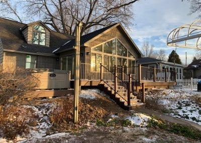 Fine Lake, MI - Composite Deck, Steel Rails