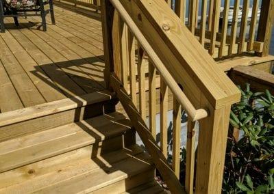 Portage, MI - Treated Wood