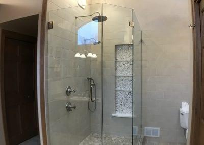Texas Township, MI  - Bathroom Remodel w/ Frameless Shower