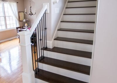 Texas Township, MI - New Stair Treads and Railing
