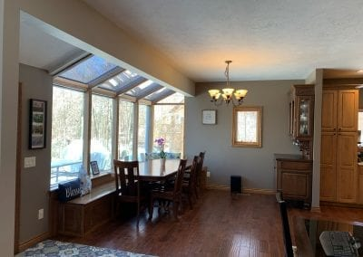 Dining Room w/ Sunroom