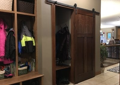 Entry Lockers