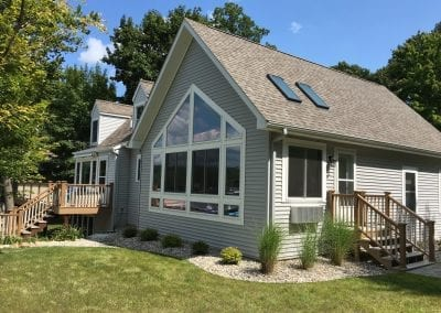 Delton, MI - Sunroom/Garage/ Laundry/Bath Addition