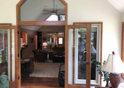 Portage, MI - Framed Sunroom