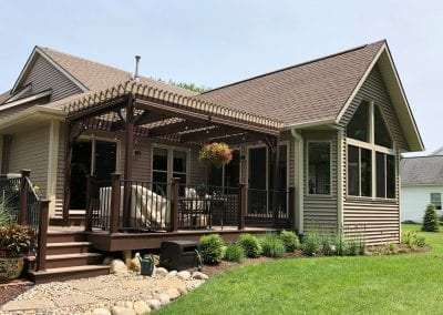 Portage, MI - Sunroom & Dining Room Extension