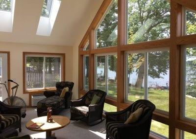 Delton, MI - Skylights in New Sunroom