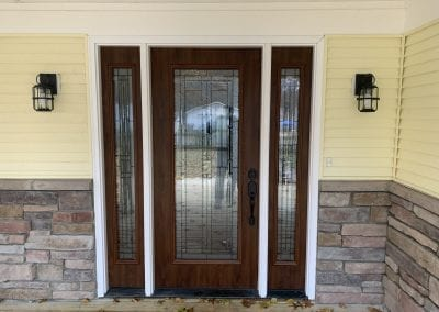 Portage, MI - Relocate House Entry, Install Front Door